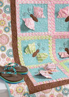 Create unforgettable quilts for little ones—it's all in the details! Projects in Cute Quilts for Kids start with simple squares and rectangles; tactile ruffles, rickrack, and yo-yos turn them into quilts that kids will want to keep forever.