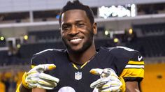 Antonio Brown downplays Josh Norman matchup: 'I'm not a fighter' Josh Norman, Steelers Super Bowls, Brandon Marshall, Narcissistic People, Pittsburgh Steelers, Antonio Brown, Espn, Steeler Nation, Tight End