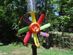 Make Colorful Garden Decor Using Empty Soda Cans