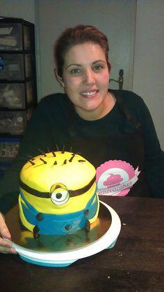 Me and my Minion fondant cake ! My Minion, Minions, School Shopping, Boy Birthday, Fondant, Cake, Boys, Desserts, Baby Boys
