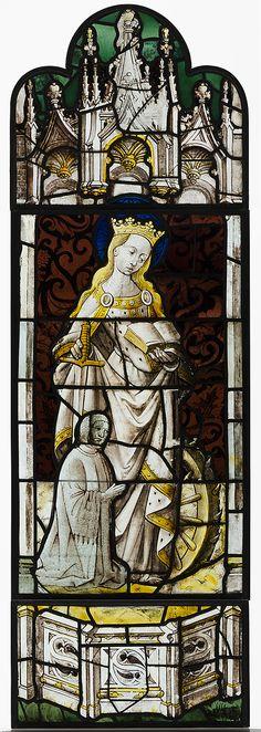 Saint Catherine of Alexandria Date: ca. 1450. Made in Elbeuf, France.
