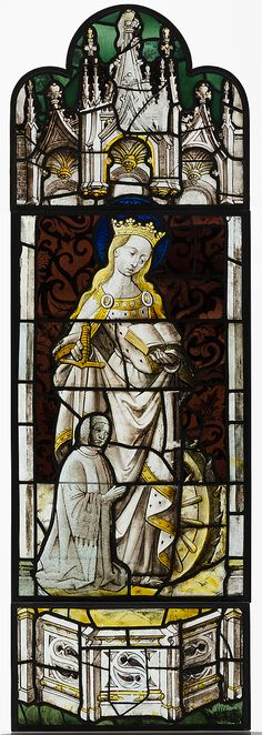 Saint Catherine of Alexandria. Date: ca. 1450. Geography: Made in Elbeuf, France.