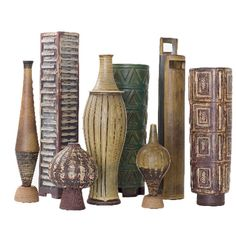 Farsta vases by Wilhelm Kage | Swedish Vintage Pottery | Pinterest ...