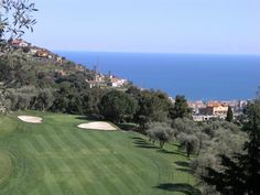 Golf Club with an exquisite view! Sanremo, Liguria, Italy