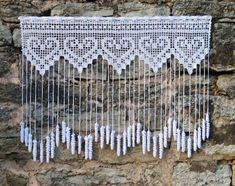 Captivating Crochet a Bodycon Dress Top Ideas. Dazzling Crochet a Bodycon Dress Top Ideas. Crochet Curtain Pattern, Crochet Patterns Filet, Crochet Lace Edging, Crochet Curtains, Crochet Motifs, Curtain Patterns, Crochet Chart, Filet Crochet, Crochet Doilies