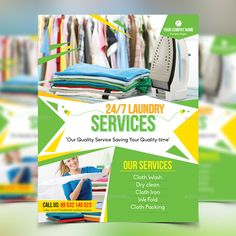 Laundry services flyer template laundry service flyer laundry service flyer pronofoot35fo Image collections