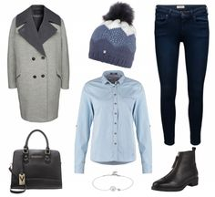 #Herbstoutfit Blue  ♥ #outfit #Damenoutfit #outfitdestages #dresslove