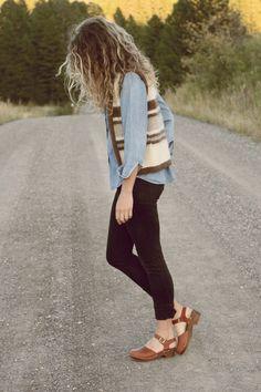 Vintage Wool Vest | Everything Golden