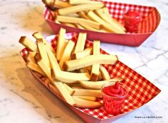 CAKE Fries and frosting!!!