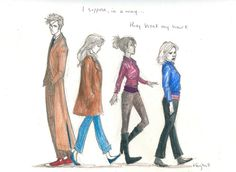The Doctor's Company by Burdge-Bug - now I'm gonna go in a corner and cry for a little while