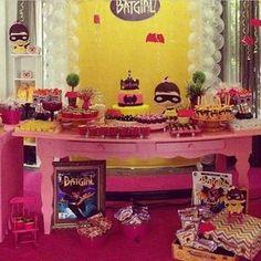 BatGirl   festa #festatop #festalinda #festamenina festa batgirl #party party kids decor ideias ideias #inspiração #decor #decoração decoração infantil #queridadata
