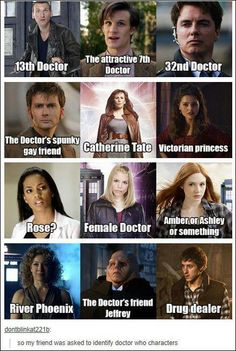 THE DOCTOR'S SPUNKY GAY FRIEND OMFG XDXDXD