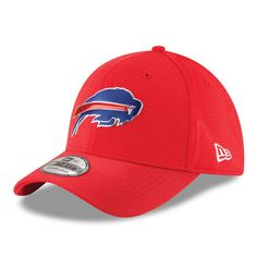 Buffalo Bills New Era Color Rush On Field 39THIRTY Flex Hat - Red