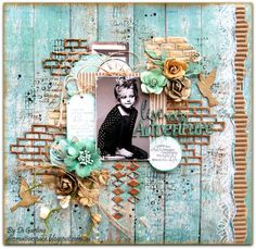 """My 2Crafty Chipboard October DT RevealPart Two""""Live Your Adventure"""". Di Garling"""