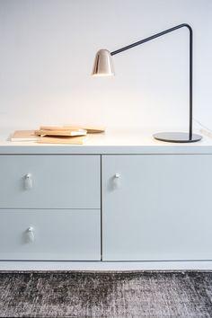 LED adjustable metal desk lamp CHAPLIN | Metal desk lamp by Formagenda