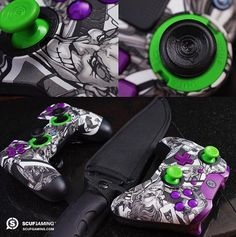 SCUF Infinity Series Jester controllers for Xbox One and PlayStation. Personalize key areas of design and function to match your style.