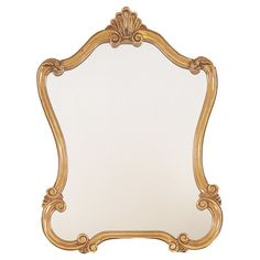 $108 Joss and Main An elegant addition to your living room or den, this stylish wall mirror features a scrolling frame in gleaming gold finish.   Product:...