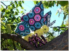 No Pattern http://www.ravelry.com/projects/nnattalli/african-flower-butterfly-twisty