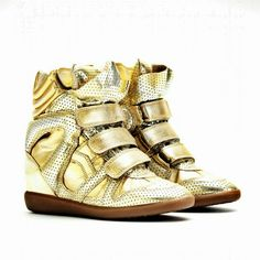 Love this Sneakers by Isabel Marant. Oh well, WHO DOESN'T?! ;)
