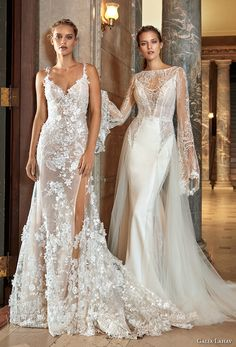 galia lahav fall 2017 bridal collectio kira gown and penelope gown