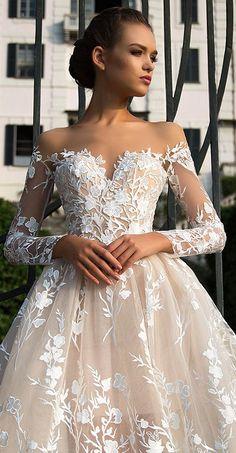 Milla Nova Bridal 2017 Wedding Dresses azalia2 / http://www.deerpearlflowers.com/milla-nova-2017-wedding-dresses/8/