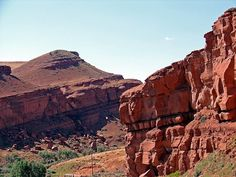 Red Cliffs area on the Wind River