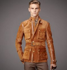 Jackets really are a vital component to every single man's set of clothes. Men will need outdoor jackets for a number of occasions and several climate conditions Mens Fur, Belstaff, Mens Outfitters, Gentleman Style, Mens Fashion, Fashion Menswear, Leather Fashion, Daily Fashion, Luxury Fashion