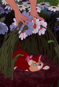 *ALICE & DINAH ~ Alice in Wonderland, 1951