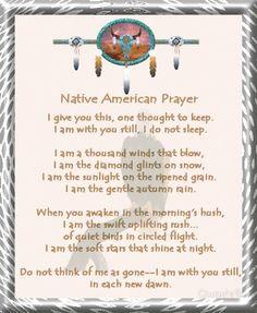 ~Native American Prayer~