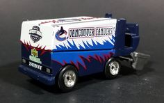 1999 Upper Deck Vancouver Canucks NHL Ice Hockey Zamboni Diecast Collectible Toy https://treasurevalleyantiques.com/products/1999-upper-deck-vancouver-canucks-nhl-ice-hockey-zamboni-diecast-collectible-toy #1990s #90s #Nineties #Vancouver #Canucks #NHL #IceHockey #Hockey #FrankJZamboni #Zamboni #IceResurfacer #Diecast #Canadian #Sports #Collectibles #Toys #BritishColumbia #Teams