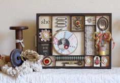 All sizes | Shadowbox Tray : Kerry Lynn Yeary | Flickr - Photo Sharing!