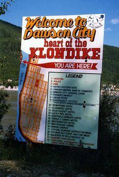 Welcome to Dawson City, Yukon Territory. Canada Trip, Canada Eh, Canada Travel, Yukon Quest, All About Canada, Yukon Territory, Northern Exposure, Hotel Motel, Alaska Travel