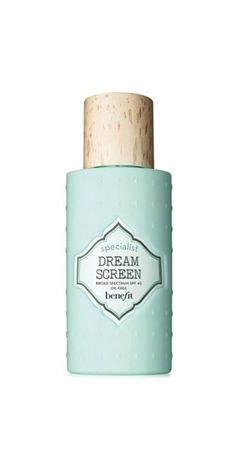 """Specialist Dream Screen Invisible Silky-Matte Broad Spectrum SPF 45: """"I had never used a sunscreen specifically for my face until I got this bottle as a gift. It goes on smoothly and doesn't make me feel like I've clogged all my pores (and I break out easily!). I also love that the lotion doesn't have a sunscreen smell or make my face look shiny, even topped with makeup."""" —Jacqueline Andriakos, associate editor"""