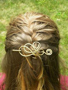 Hair Bow Hair Accessories Hair Clip Hairstyles by ElizabellaDesign, $25.00