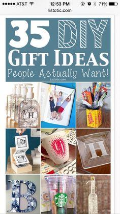 35 DIY gifts!