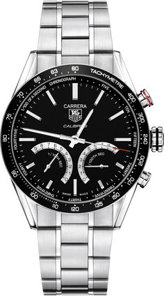 @tagheuer Watch Carrera Chronograph Tachymeter #bezel-fixed #bracelet-strap-steel #brand-tag-heuer #case-material-steel #case-width-43mm #chronograph-yes #delivery-timescale-4-7-days #description-done #dial-colour-black #gender-mens #luxury #movement-automatic #official-stockist-for-tag-heuer-watches #packaging-tag-heuer-watch-packaging #style-sports #sub-seconds-yes #subcat-carrera #supplier-model-no-cv7a12-ba0795 #warranty-tag-heuer-official-2-year-guarantee #water-resistant-100m