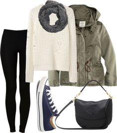 """Rainy day +converse"" by shantal11 ❤ liked on Polyvore"