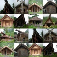 Traditional Nagaland, India Domestic Architecture