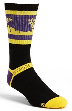 STRIDELINE 'Los Angeles' Socks
