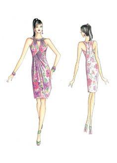Patron de couture Robes 3436