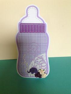 Sutteflaske. By Donna kort.