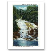 Buttermilk Farms State Park Lower Falls View Postcards by LanternPress