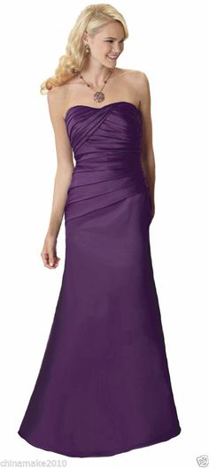Faironly Custom Sweetheart Satin Bridesmaid Gown Club Homecoming Evening Dress Made of honor