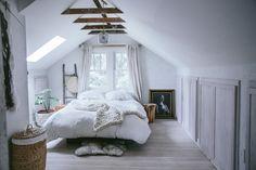 west elm - Attic Bedroom Makeover