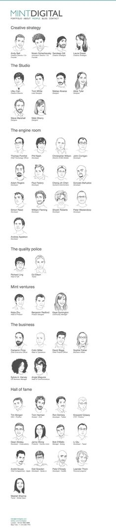 """Great Illustrations on """"About Us"""" page"""