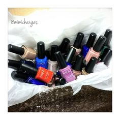 Grab them while you can♡♡♡ @kikomilano offers great deals atm!!! http://www.kikocosmetics.com/de-de/ . They reduced their nail polished from €3.90/€2.90→€1.90 to add on it, GET 5 FOR €5 😍 . bought 5 bottles of #335 = #inkblue and 20 other shades that I didn't own, and a couple of magnets for #magneticnails . . I like the formula because they dry fast, opaque, and not too thin nor too thick so that it's easy to control. I also find the brush easy to apply. . I've been loving the shade Ink…