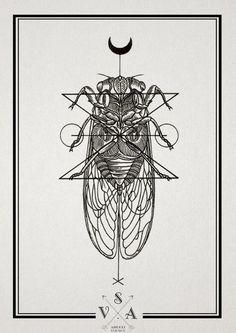 "Illustration / Тату салон \""Master"