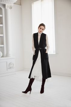Olivia Palermo x Chelsea 28 herfst 2016 collectie - Kleidung Mode Olivia Palermo Outfit, Estilo Olivia Palermo, Olivia Palermo Lookbook, Olivia Palermo Style, Mode Ootd, Mode Hijab, Look Fashion, Fashion Outfits, Fashion Trends