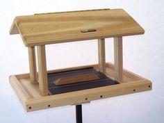 Cedar 11 Quart 4-Sided Hopper   Birds Choice