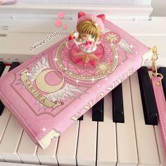 Cardcaptor Sakura  Sakura Card Book Wallet by PeilieeShop on Etsy